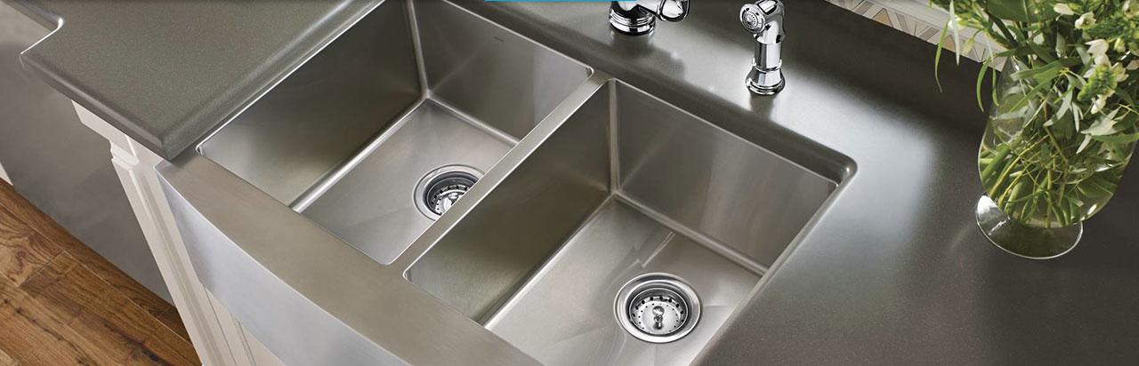 Kitchen  Sinks  Moen