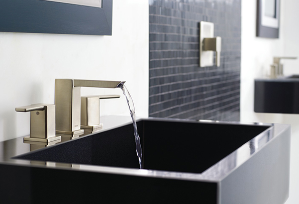 Picture Of How This Faucet Looks Like On A Sink For More Details You May Check Specification Sheet If Is What Re Looking