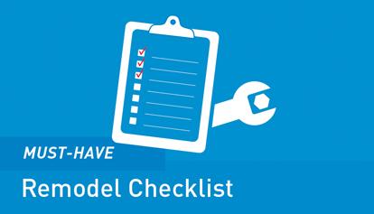 Moen Bathroom Remodel Checklist