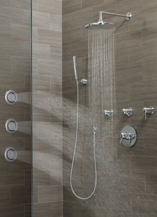 Moen immersion shower pressure innovation Shower innovations