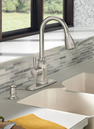 Moen Microban Clean Faucet Innovation