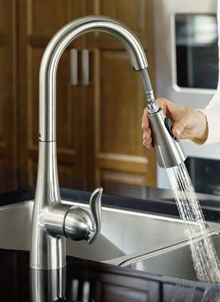 video photo gallery - Moen Kitchen Sink Faucet
