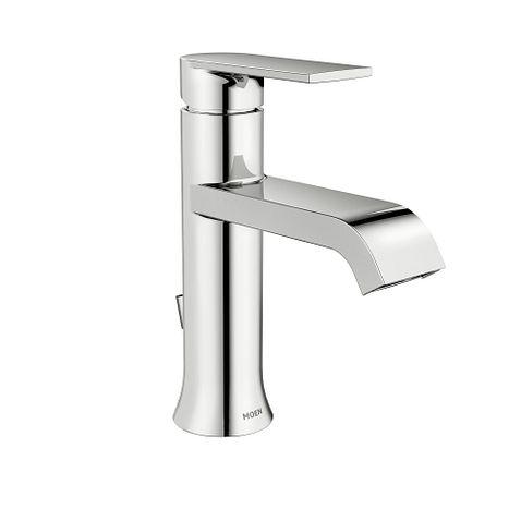 Genta Chrome One Handle Bathroom Faucet Ws84760 Moen