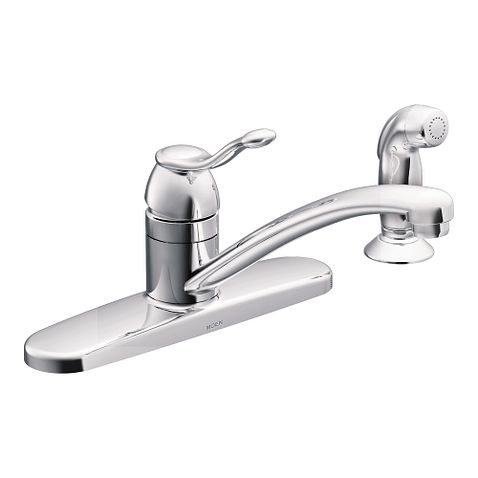 Adler Chrome One Handle Kitchen Faucet CA87016 Moen