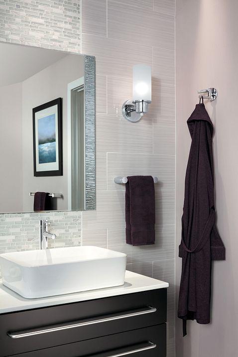 Align Chrome 24 Quot Towel Bar Yb0424ch Moen