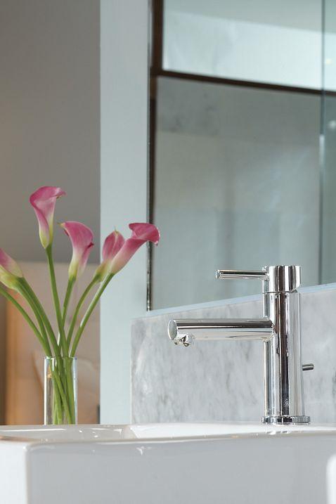 Align Chrome One Handle High Arc Bathroom Faucet 6190 Moen