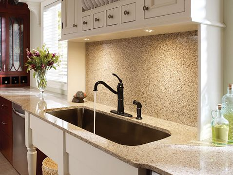 Wetherly Mediterranean Bronze One Handle High Arc Kitchen
