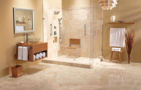 Moen home care teak folding shower seat dn7110 moen for Llaves para regadera moen