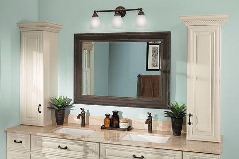 Brantford oil rubbed bronze one-handle high arc bathroom ...