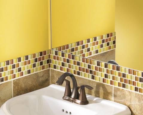 Eva Oil Rubbed Bronze Two Handle High Arc Bathroom Faucet 6410orb Moen