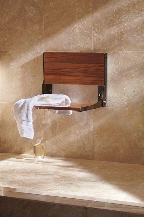 Bath Safety Teak Folding Shower Seat Dn7110owb Moen
