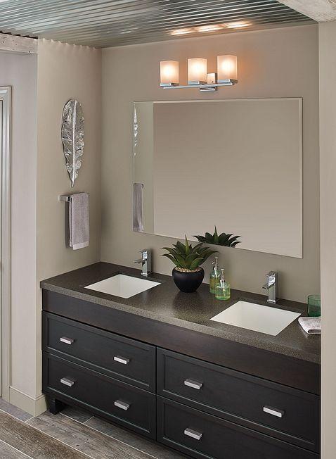 90 Degree Chrome One Handle Low Arc Bathroom Faucet