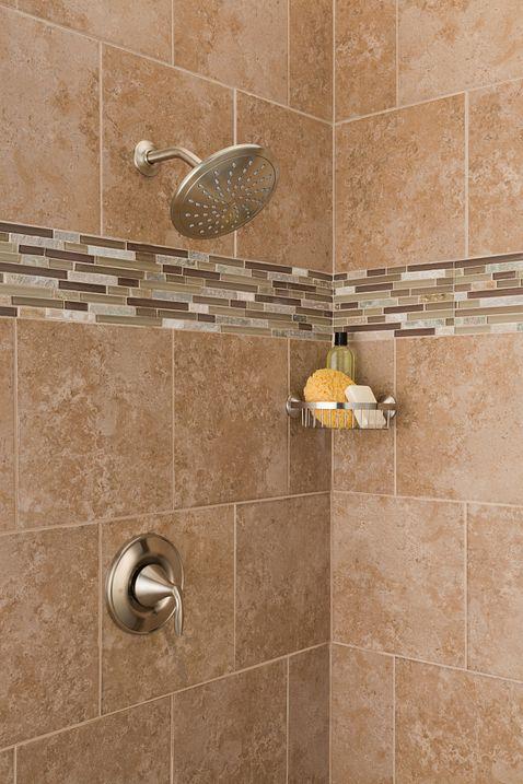 Eva chrome posi temp shower only t2232ep moen for Llaves para regadera moen