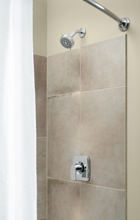 Moen Genta Chrome 1 Handle Bathroom Faucet: Genta Chrome Posi-temp® Valve Trim