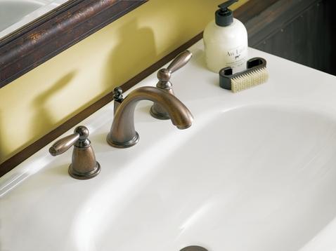 Brantford Oil Rubbed Bronze Two Handle High Arc Bathroom