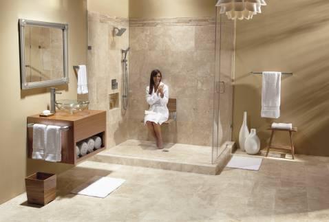 Moen Home Care Teak Folding Shower Seat Dn7110 Moen