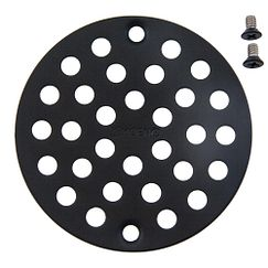Wrought iron tub/shower drain covers