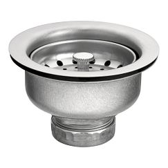 Satin stainless steel sink accessory