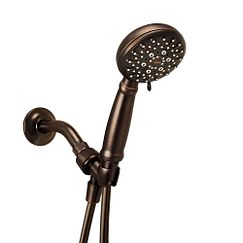 Mediterranean bronze handheld shower