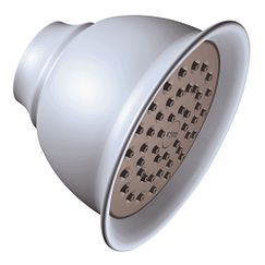 "Platinum one-function 4-3/8"" diameter spray head moenflo xl showerhead"