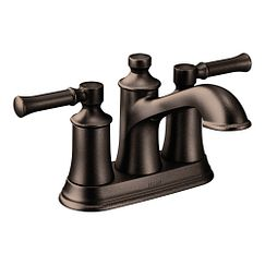 Brantford Oil Rubbed Bronze Two Handle Low Arc Bathroom