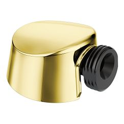 Polished brass drop ell