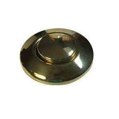 botón tipo interruptor neumático para desecho, latón pulido