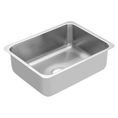 "18""x23"" stainless steel 18 gauge single bowl sink"