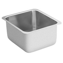 "16""x18"" stainless steel 18 gauge single bowl sink"