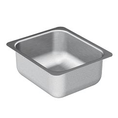 "11""x14"" stainless steel 18 gauge single bowl sink"