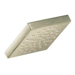 """Brushed Nickel One-function 6"""" Diameter Spray Head Rainshower"""