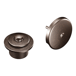 Oil rubbed bronze tub/shower drain covers