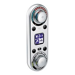 Chrome vertical spa digital control