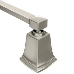 "Brushed nickel 18"" towel bar"