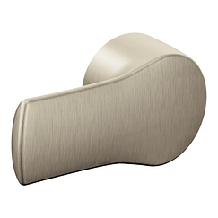 Brushed nickel tank lever