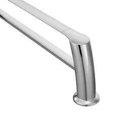 "Chrome 18"" double towel bar"