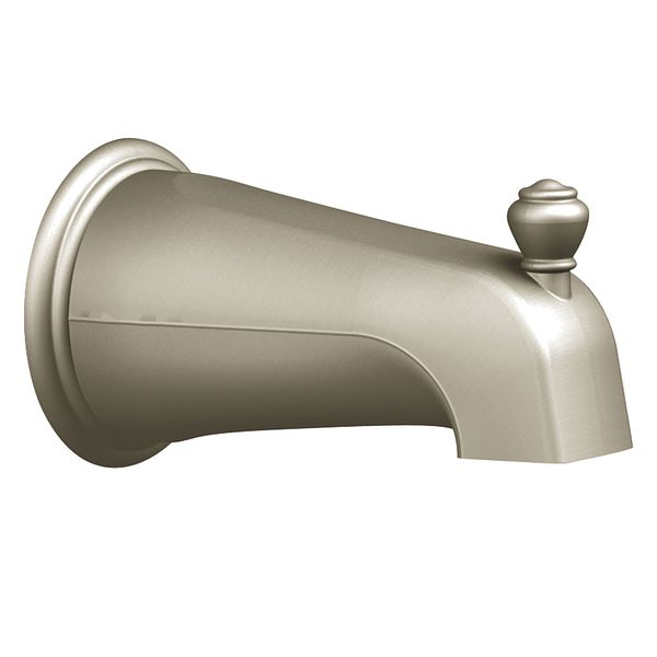 Monticello Brushed Nickel Diverter Spouts