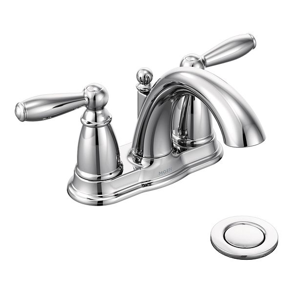 Griferia Para Baño Moen:Moen Brantford Bathroom Faucet