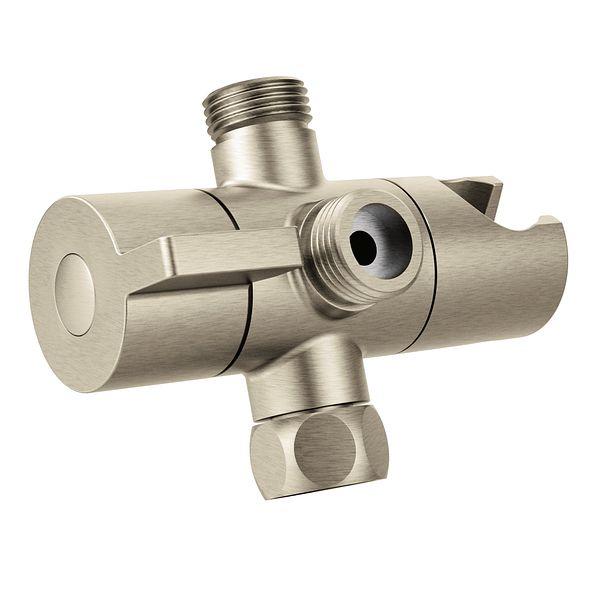 Moen Brushed Nickel Shower Arm Diverter CL707BN Moen