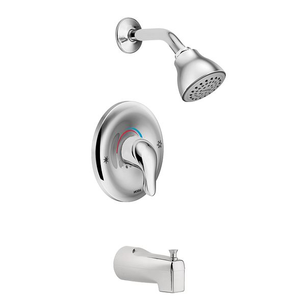 Chateau Chrome Posi Temp 174 Tub Shower L2353 Moen
