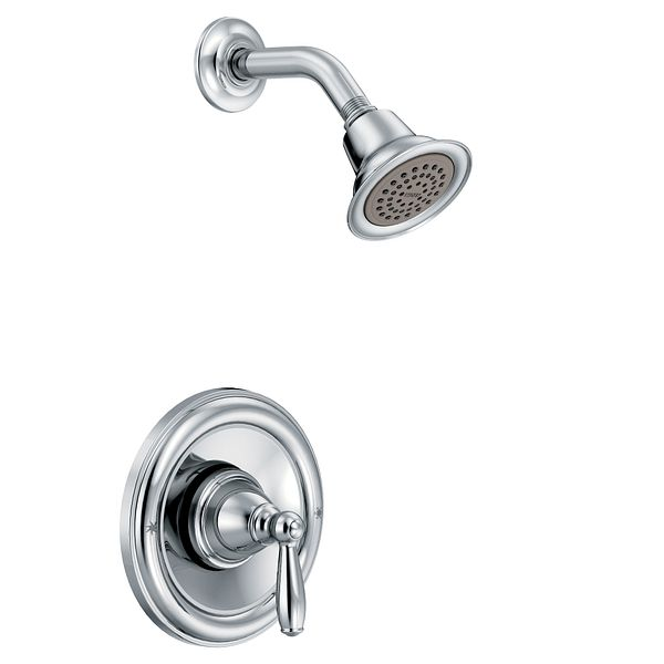 Brantford Chrome Posi Temp 174 Shower Only T2152 Moen
