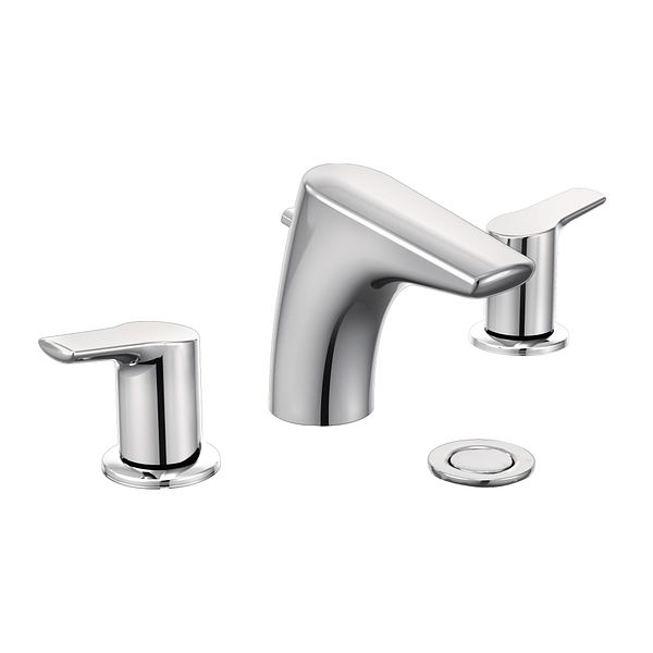 Griferia Para Baño Moen:Moen Bathroom Faucet Two Handles