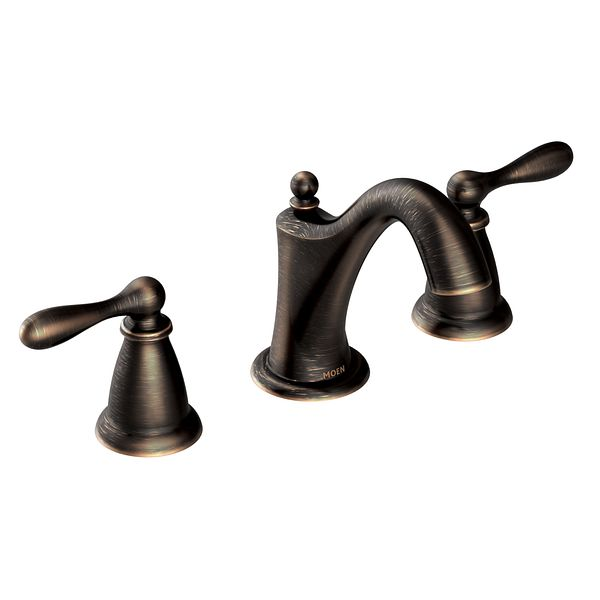 Griferia Para Baño Moen:Moen Bathroom Faucets Bronze